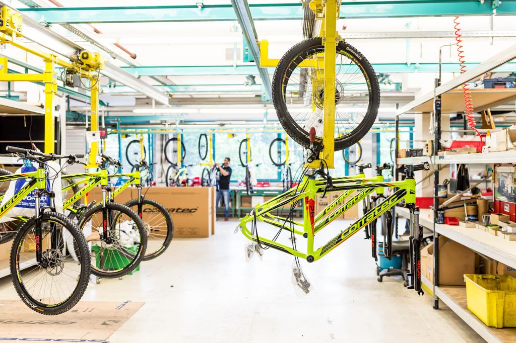 Fotografie Mountainbike Produktion