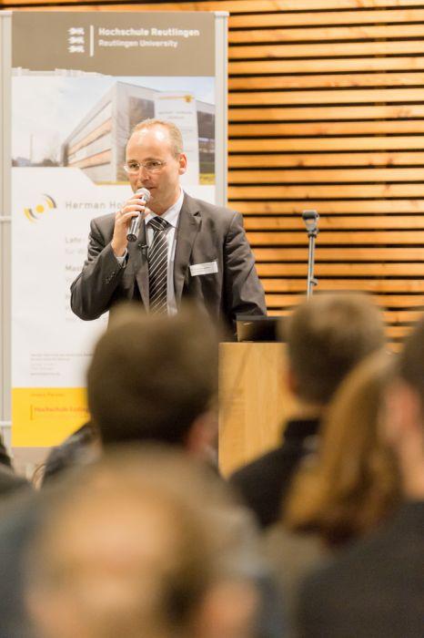 Eventfotografie Stuttgart Keynote Speaker