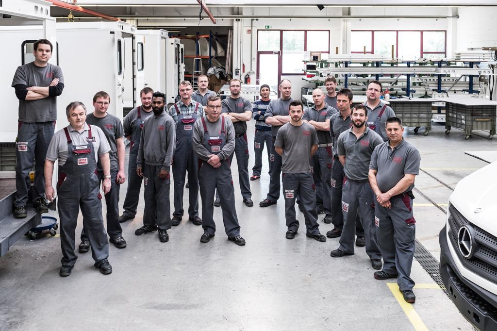 Unternehmens-Fotografie Strobel Gruppenbild