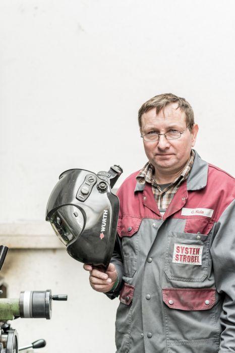 Unternehmens-Fotografie Strobel Mitarbeiter Portrait
