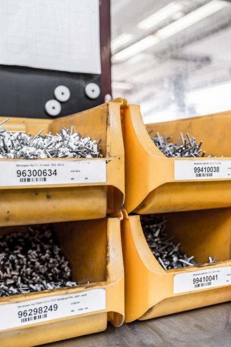 Unternehmens-Fotografie Strobel Rettungswagen Detail
