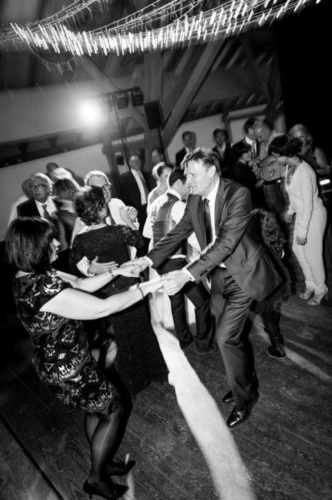 Hochzeitsfotografie Tanzparty