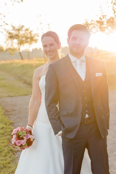 Brautpaar Maisenburg Gegenlicht