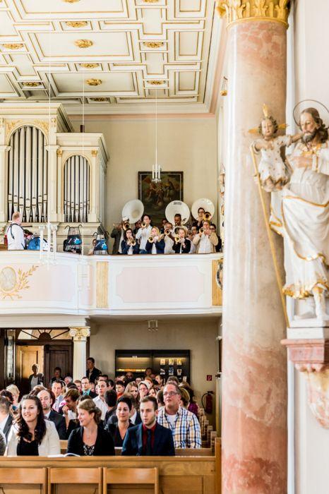 Hochzeits-Fotografie Dreifaltigkeitsberg Kirche
