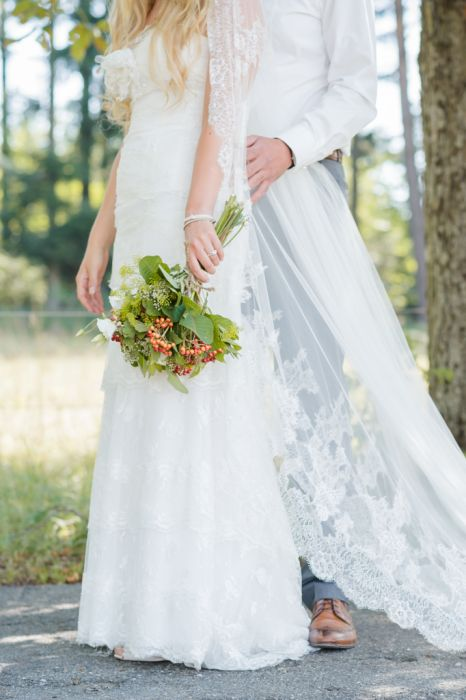 Nahaufnahme Brautstrauß