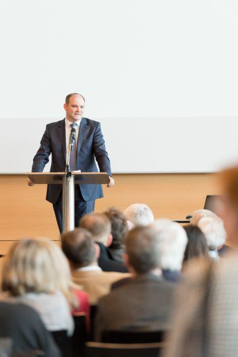 Eventfotografie Messe Redner