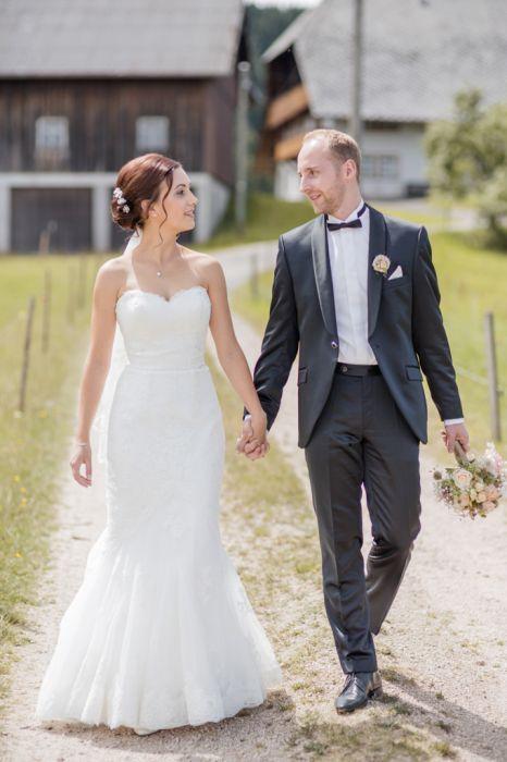 Portrait Brautpaar Natürlich
