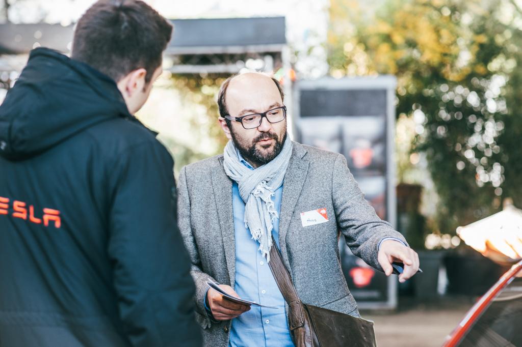 Gespräch bei Event in München