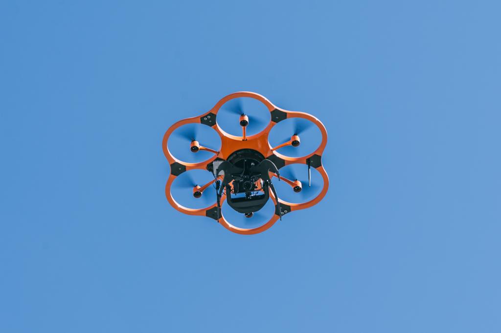 Drohne im Flug Event München
