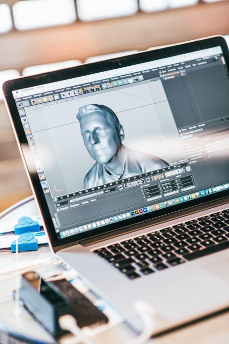 3D Drucker Software Detailaufnahme Eventfotografie
